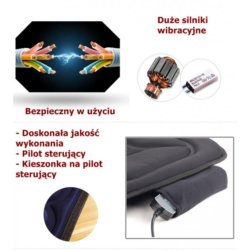Niesamowite Materac Masujący 10 silników do masażu - P.H. SERWIS Henryk Potępa KZ01